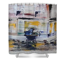 Fleeting Time Shower Curtain by PainterArtist FIN