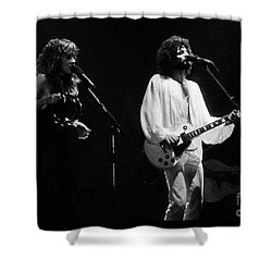 Fleetwood Mac In Amsterdam 1977 Shower Curtain