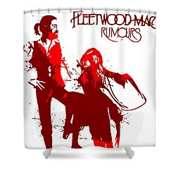 Fleetwood Mac Rumours Shower Curtain