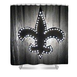 Fleur De Light Shower Curtain by Deborah Lacoste