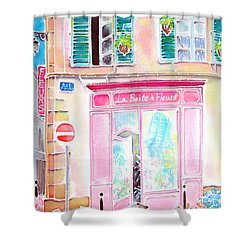 Fleuriste Shower Curtain