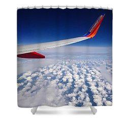 Flight Home Shower Curtain