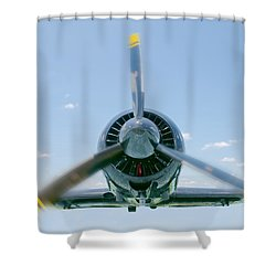 Flight In Color Shower Curtain