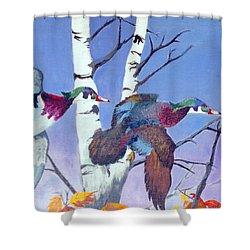Flight Of Fancy Shower Curtain