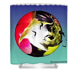 Flight Of The Ravens #art Shower Curtain