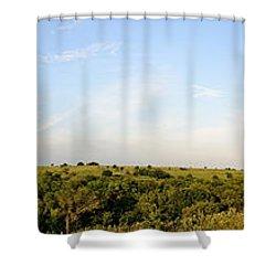 Flint Hills 2 Shower Curtain by Brian Duram