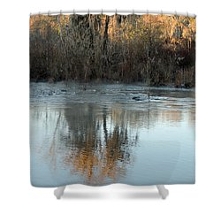 Shower Curtain featuring the photograph Flint River 17 by Kim Pate
