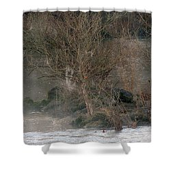 Shower Curtain featuring the photograph Flint River 19 by Kim Pate