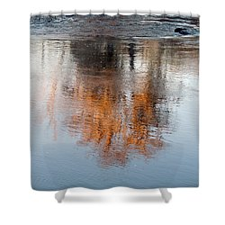 Shower Curtain featuring the photograph Flint River 22 by Kim Pate