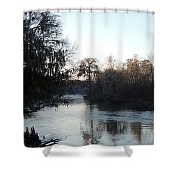Shower Curtain featuring the photograph Flint River 23 by Kim Pate