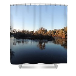 Shower Curtain featuring the photograph Flint River 26 by Kim Pate