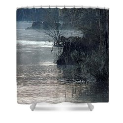 Shower Curtain featuring the photograph Flint River 28 by Kim Pate