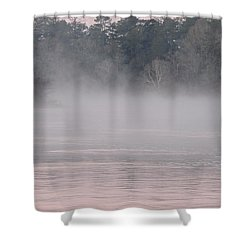 Flint River 3 Shower Curtain