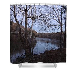 Shower Curtain featuring the photograph Flint River 4 by Kim Pate