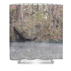 Shower Curtain featuring the photograph Flint River 5 by Kim Pate