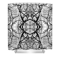 Tree No. 1 Shower Curtain
