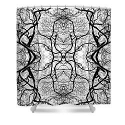 Tree No. 5 Shower Curtain