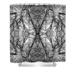 Tree No. 7 Shower Curtain