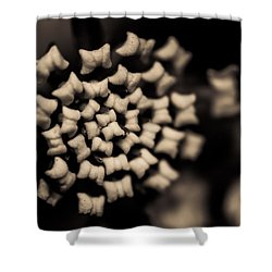 Floating Into The Dark II Shower Curtain by Marco Oliveira