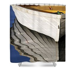 Floating On Blue 15 Shower Curtain