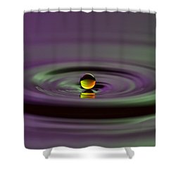 Floating On Water Shower Curtain