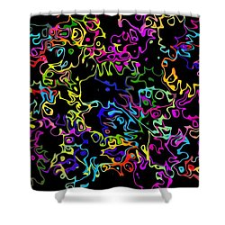 Shower Curtain featuring the photograph Floing by Mark Blauhoefer
