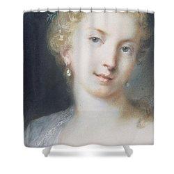 Flora Shower Curtain by Rosalba Giovanna Carriera