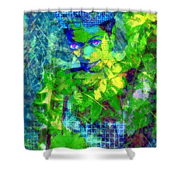 Flora Shower Curtain by Seth Weaver