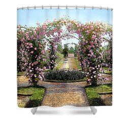 Floral Arch Shower Curtain