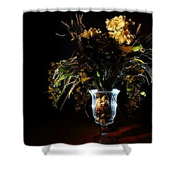 Shower Curtain featuring the photograph Floral Arrangement by David Andersen