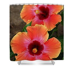 Floral Beauty 2  Shower Curtain