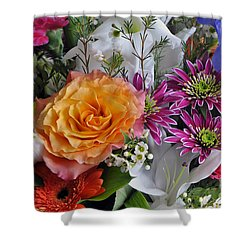 Floral Bouquet 6 Shower Curtain