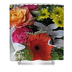 Floral Bouquet 7 Shower Curtain