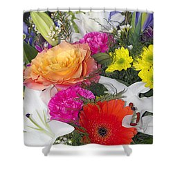 Floral Bouquet Shower Curtain