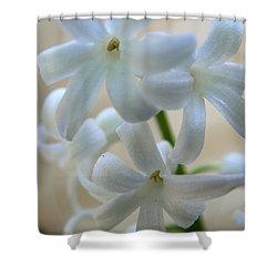 Floral Design Shower Curtain by Neal Eslinger