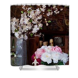 Floral Display Shower Curtain
