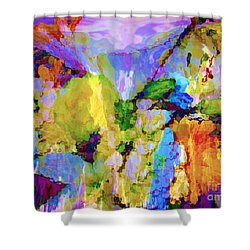 Floral Dreamscape Shower Curtain