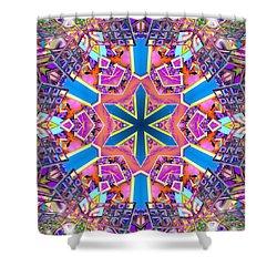 Floral Dreamscape Shower Curtain