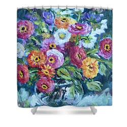 Floral Explosion No. 2 Shower Curtain