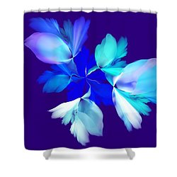 Floral Fantasy 012815 Shower Curtain by David Lane