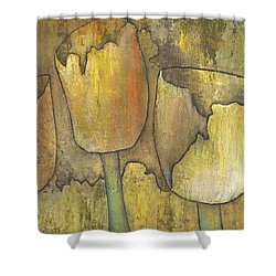 'floral Fruition' Shower Curtain