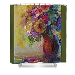 Floral Still Life Shower Curtain