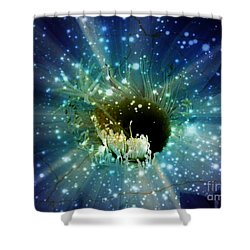 Floral Stratosphere Shower Curtain