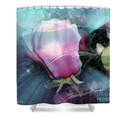 Shower Curtain featuring the photograph Floral Tides by Leanne Seymour