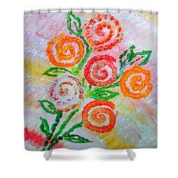 Floralen Traum Shower Curtain by Sonali Gangane