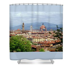 Florence Shower Curtain by Ellen Henneke