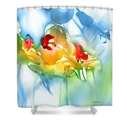 Shower Curtain featuring the photograph Flores En La Ventana by Alfonso Garcia