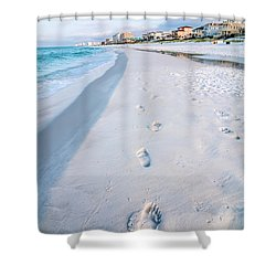 Florida Beach Scene Shower Curtain