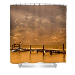 Florida Keys Shower Curtain by Bruce Bain