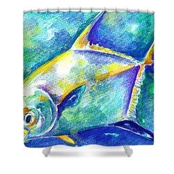 Florida Keys Permit Shower Curtain